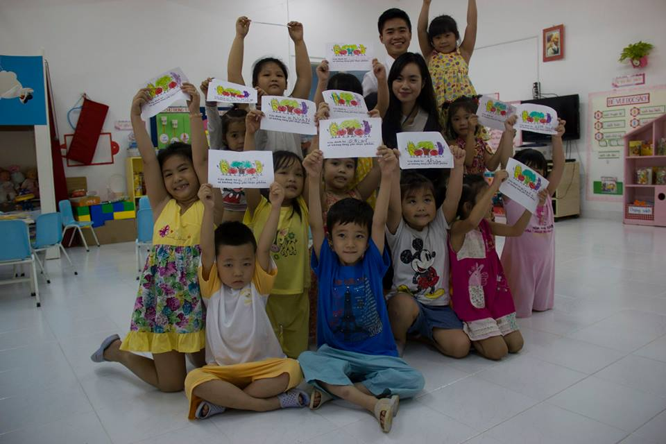 Green Lesson at Vang Anh Kindergarten