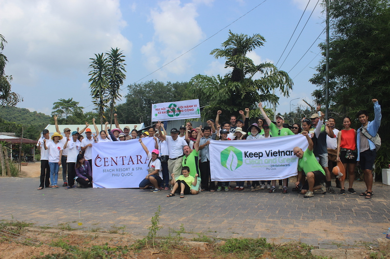 Phu Quoc Clean Up with Centara Resort