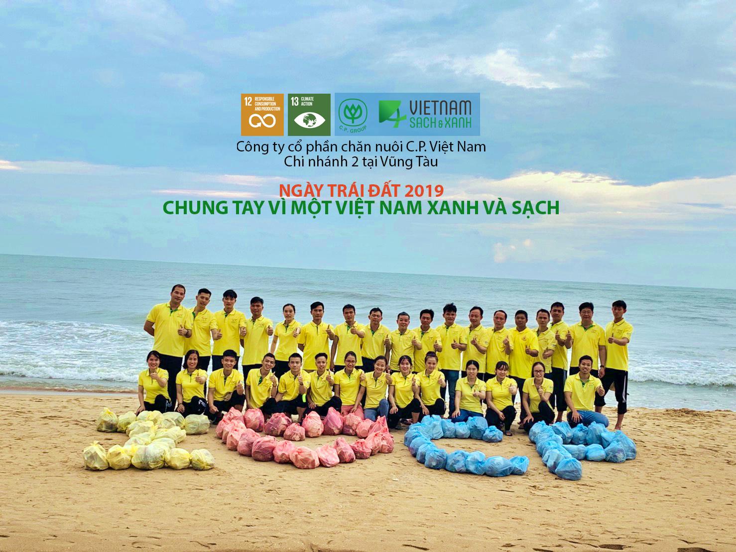 C.P. Việt Nam tổ chức tuyên truyền giảm rác thải nhựa cho cám bộ nhân viên công ty