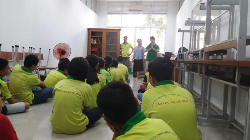 Green Lesson for De Men Club - Center of Social Work