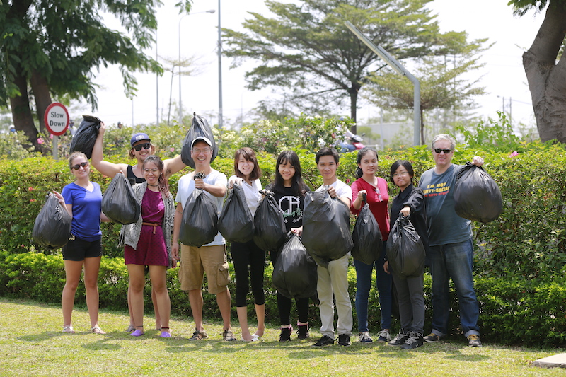 Clean Up with RMIT Students and Staff