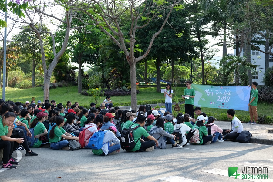Earth Day 2018: University Village, Thu Duc District